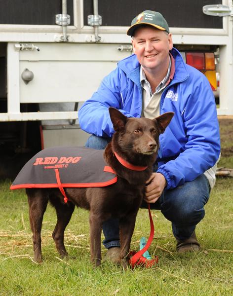 John Houlihan with Red Dog 2011